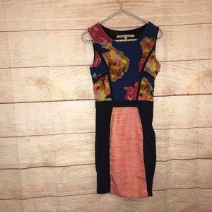 Rachel Roy size 2 floral dress